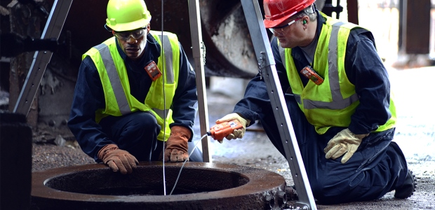 Workers need to trust and believe that leaders are looking out for their safety. Taking action on the hazards found is a quick way to earn that trust. (Industrial Scientific Corporation photo)