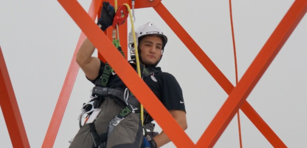 Tower climbing and rescue training will be taught by experienced trainers. Students already trained at the Honeywell Life Safety facility have come from as far away as Toronto and Trinidad, trainers said Sept. 17.
