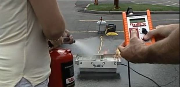Hands-on training is by far the most successful way to familiarize one with fire extinguisher usage.