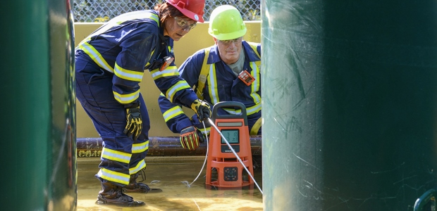 Wireless technology can be a game changer for confined space entries by notifying the attendant of changes in the environment before the entrant is aware of the change. (Industrial Scientific photo)