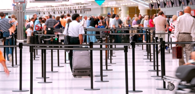 Part of the SmartSecurity concept is to have airport pre-boarding security assets assigned according to risk. (Elena Elisseeva/Shutterstock.com photo)