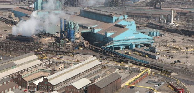 The case involves U.S. Steel employees working at mills in Michigan and Illinois; it arose primarily from the company