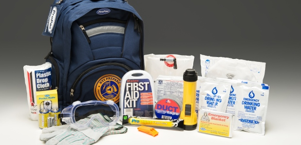 The emergency kit to be given to trained New York state residents includes work gloves, a first aid kit, water, and more.