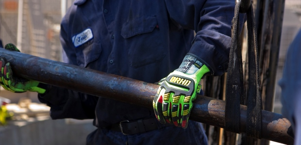 Improved manufacturing processes have provided designers with the means to design a TPR exoskeleton that safeguards the user's metacarpals and knuckles all the way to the tip of each finger without hindering mobility. (Mechanix Wear photo)