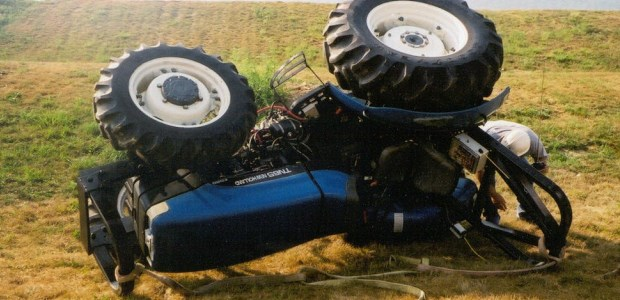 About 40 percent of U.S. tractors in service lack rollover protective systems, the authors wrote.