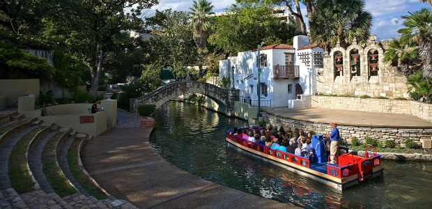 The famous San Antonio River Walk is a mecca for tourists and a cool oasis during the summer. (San Antonio Convention & Visitors Bureau photo)
