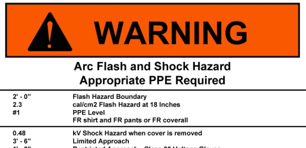 Motor control centers, switchgear, disconnects, and the power from generators are all arc flash hazards, and the risk of an uncontrolled oil release (known as a blowout) poses a fire hazard for oil and gas workers.
