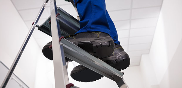 How You Can Work Safer on a Ladder