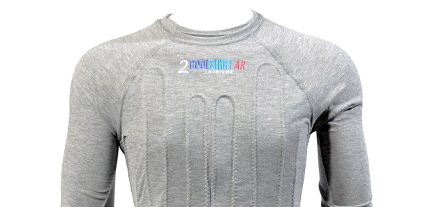 It can take as much as 24 hours for the body to absorb enough fluid to fully rehydrate. By using shirts and vests that incorporate active cooling on about 40 percent of the body surface, the danger of heat stress can be greatly reduced. (CoolShirt Systems photo)