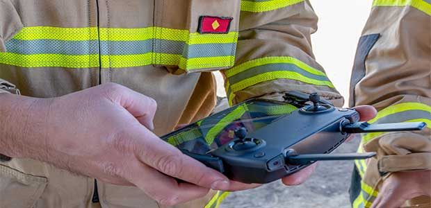 Arizona Fire Department Utilizes Drones to Ensure Safety of Firefighters