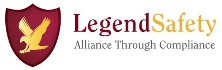 This is the logo of Legend Safety Solutions, Inc., which is located in Suffern, N.Y.