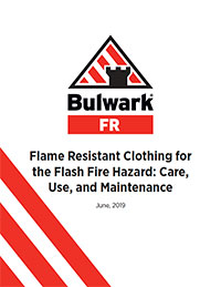 Flame Resistant Clothing for the Flash Fire Hazard: Care, Use, and Maintenance