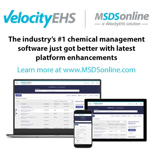 MSDSonline Chemical Management