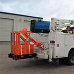 fall arrest service crane basket