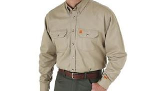 Wrangler® FR Long Sleeve Work Shirt