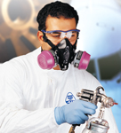 guy with respiratory mask