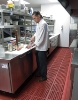 OSHA has reported that 29 CFR 1910.22, its walking-working surfaces standard, was the seventh-most-cited standard by its compliance officers in the Eating Places Industry Group from October 2008 through September 2009.