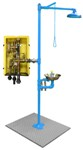 There are a variety of requirements a safety shower must meet in order to be OSHA/ANSI compliant.