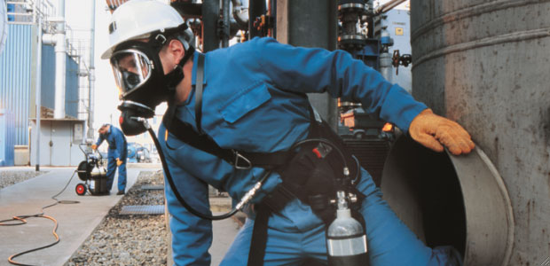 Correctly classifying the severity risks of H2S exposure will aid in selecting the appropriate escape respirator. (Draeger photo)