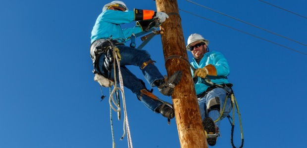 New OSHA regulations in effect August 2015 are designed to keep utilities workers safe on the job with stricter regulations for PPE. (TECGEN FR photo)