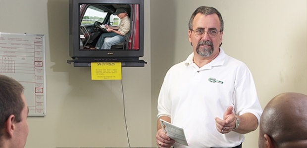 There are only a handful of required driver training topics in the Federal Motor Carrier Safety Regulations. (J.J. Keller & Associates Inc. photo)