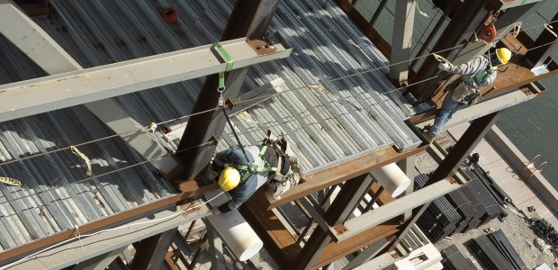 Specifications usually state that a harness can be used for a period of 10 years, if inspected annually. But is mere visual inspection really enough? (Honeywell Industrial Safety/Miller Fall Protection photo)
