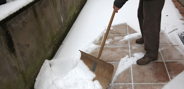 Ice and snow buildup in parking lots and on walkways can be hazardous to employees, delivery people, and guests.