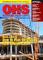 OHS January 2011 Cover