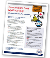 Combustible Dust Mythbusting