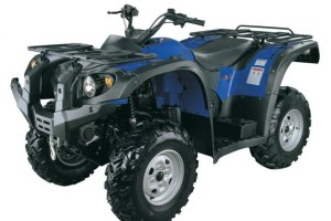 This type of quad bike is sold in Australia for use on farms.