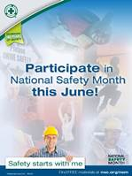 The 2013 National Safety Month theme is