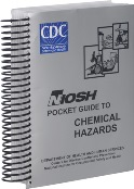 The NIOSH Pocket Guide to Chemical Hazards