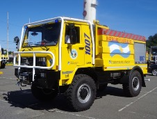 The project to equip forest fire trucks with Orlaco thermal imaging cameras begain in 2010. (Orlaco photo)