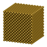The Brown University team found 8 nm gold nanomaterials were most efficient at converting CO2.
