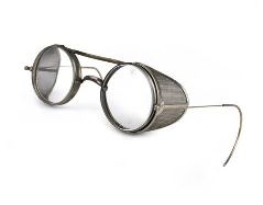 Early 20th century American safety glasses crafted by Julius King Optical Company of New York. (www.etsy.com photo)
