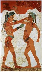 Thousands of years ago, human beings were looking to protect their hands during boxing matches. (MCR Safety photo)