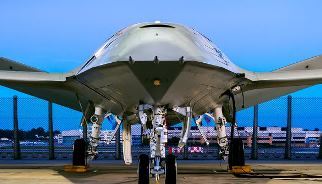 Boeing announced Dec. 19, 2017, that the MQ-25 unmanned aircraft system, shown here in a Boeing photo by Eric Shindelbower, is completing engine runs.